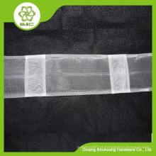 Cabeça de cortina decorativa doméstica, fita de cortina transparente, fita adesiva, fita de cortina