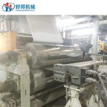 Máquina para fabricar tablones de vinilo rígido para pisos SPC