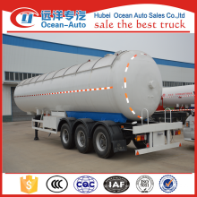 Proveedor de China 3 Ejes GLP Gas Trailer para la venta
