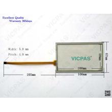 A5E02808204 KT17644 04669 Substituição da tela de toque para TP177B-4