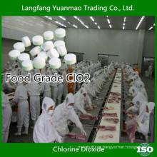 Tableta de dióxido de cloro de grado alimenticio de China Supplier