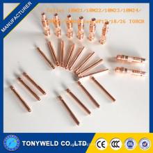 Tig collecte 10N23 pour WP17 / WP18 / WP26 pour la torche tig qq-150