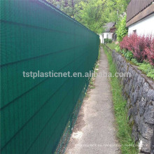 verde anti uv hdpe windbreak al aire libre jardín patio privacidad pantalla para la venta