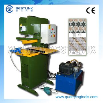 Máquina de corte hidráulica da imprensa da pedra da fábrica de Bestlink para lajes