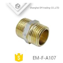 EM-F-A107 Messing-Übergangsverschraubung mit gleichem geraden Außengewinde