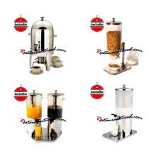 Dispensador de bebidas Precios de leche / jugo / dispensador de cereales