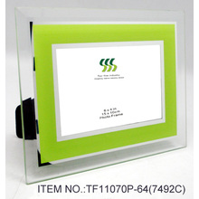 Glass mirror coated photo frame(1)