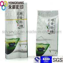 4-seitige Abdichtung Tee / Kaffee Plastik Verpackungsbeutel