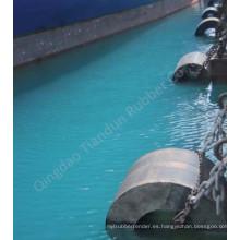 Defensa de goma del cilindro / defensa marina (TD-C1600X800XL)