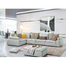 Wohnzimmer Möbel Beliebte 3 Seater Fabric Corner Sofa