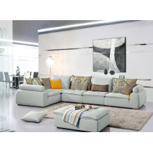 Living Room Furniture Popular 3 Seater Fabric Corner Sofa