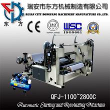 Rodillo de papel Bond de corte y máquina de rebobinado
