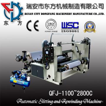 Laminates Roll Slitting and Rewinding Machine with Large Unwinding Diameter