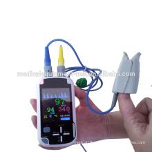 Oxímetro de mano sin hilos del pulso de Bluetooth para la venta