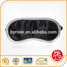 Luxury novelty personalized custom Snooze Soft Satin Sponge Padded Sleep Eye Mask