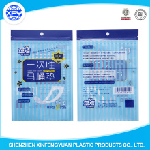 PVC Plastic Shopping Bag With Flexiloop Handle
