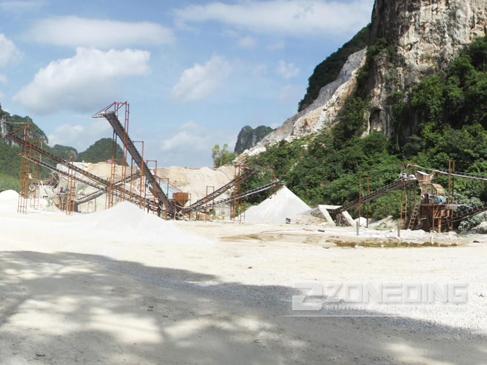 Aggregate Stone Crushing Plant
