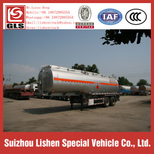 40000L Oil Tanker Semi-trailer Fuel Tanker Truck Trailer