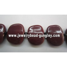 Beautiful Handmade square Ceramic beads