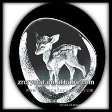 K9 Crystal Intaglio of Mold S065