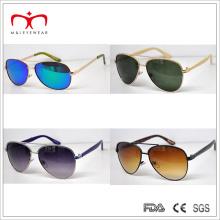 Estilo clásico y gafas de sol de metales de los hombres de Slaes superior (MI217)