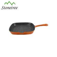 Non-stick cast iron fry pan as seen on tv