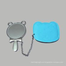 2016 promocional presente novo design colorido espelho cosmético