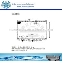 RADIATOR 3091229/3091233/3094298/3094300/3094794 For TOYOTA 85-88 COROLLA/NOVA Manufacturer And Direct Sale!