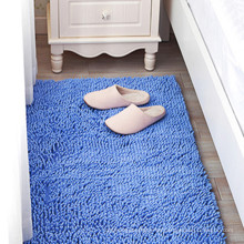 wholesale flat weave plush fluffy chenille rug