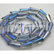 Pagoda shape crystal glass beads,wholesale lampwork beads,fashion tower beads