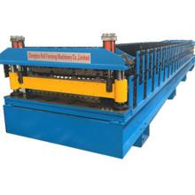 Новая двухслойная машина для производства рулонной плитки