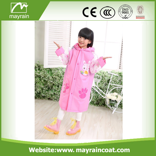 Lovely Pvc Poncho Raincoat