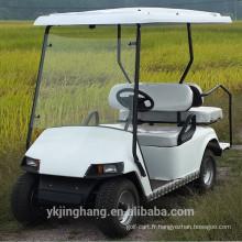 Chariot de golf à essence à quatre places