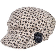 Warm fashion ladies wool knitted cap hat