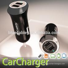 Nouveau design 5V2.1A sortie Chargeur de voiture double port USB