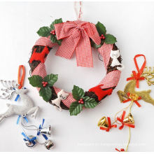 OEM Hot Sale Christmas Wreath and Garland for Hang Decoration