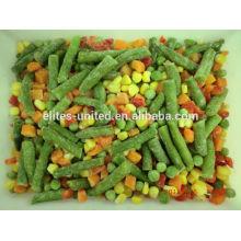 Preço dos legumes misturados congelados