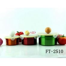 Stainless Steel Colorful Storage Bowl (FT-2510-XY)