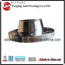 Soudure acier forgé A105 carbone collet (BW), Carbon Steel bride