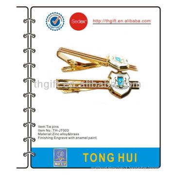 Pin / clip / barre de cravate métallique en émail doux