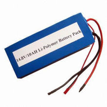 14.4V 10Ah Lithium Polymer Battery Packs