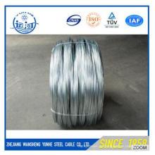 Buliding Material Arame galvanizado / fio de ferro galvanizado (fio-máquina de baixo carbono Q195)