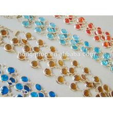 Fashion Crystal rhinestone belts for wedding dress
