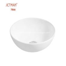 Luxury bathroom art basin Round Ceramic shampoo basin