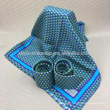 Handmade 100% Silk Mens Printed Neck Custom Silk Ties