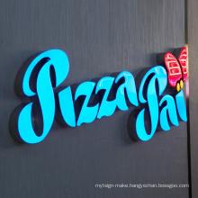 3D Advertising Design Letters Led Logo Sign Letter Waterproof Lighting LetterShop Sign Led Resin Letter