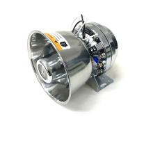 12V 24V CE EMC Audio Sirene Horn Verstärker Edelstahl Lautsprecher 100W