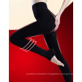 Womens Velvet Leggings Stretch Tights Velvet Push Inside