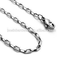 Art- und Weisequalitäts-Metall-Edelstahl-lange Kasten-Kette