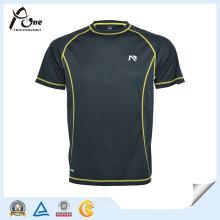 La camiseta al por mayor de la gimnasia del ajuste de Dri Fit